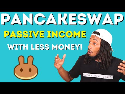 Staking Cake On PancakeSwap For Passive Income With Less Money!