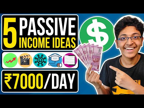 5 Passive Income Ideas: How I Make Rs. 7,000/Day as a 19 Year Old