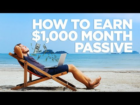 How to make $1,000 a Month Passive Income – Real Estate