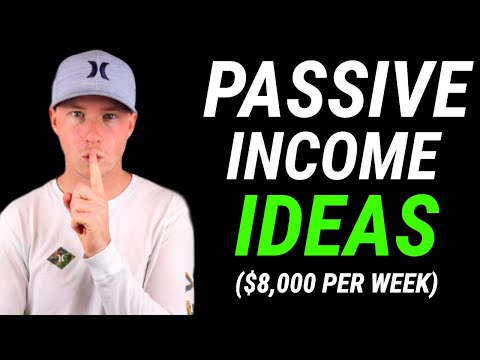 Passive Income Online – How I Make Over $8,000 Per Week (5 Ways)