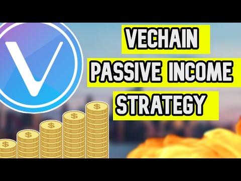 VeChain/VET Passive Income Strategy