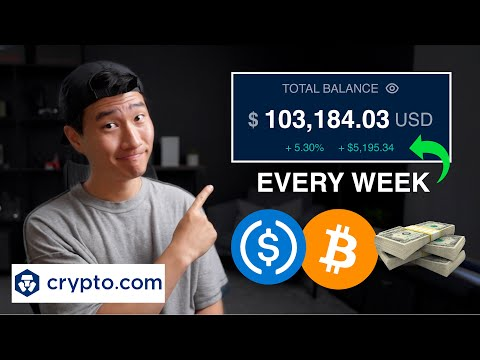Crypto.com | How to Earn Passive Income Through Cryptocurrency With USDC