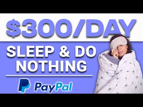 Do Nothing and Earn $300 In Passive Income For FREE Make Money Online 2021 FREE PayPal Money 2021