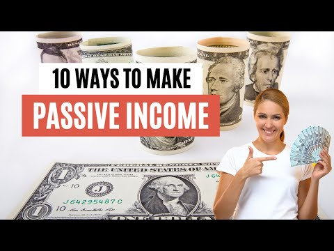 10 Ways To Make To Make Passive Income Online – Make Money Online 2021 #Shorts