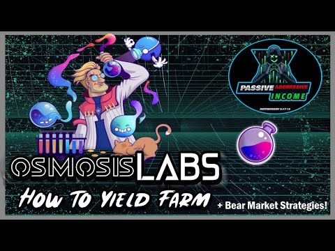 🧪 What is Osmosis Zone Labs? Earn Passive Income with Osmo Crypto Yield Farming + Market Strategies