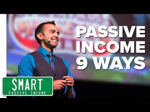 9 Ways I Earn Passive Income Online (Different Business Models)