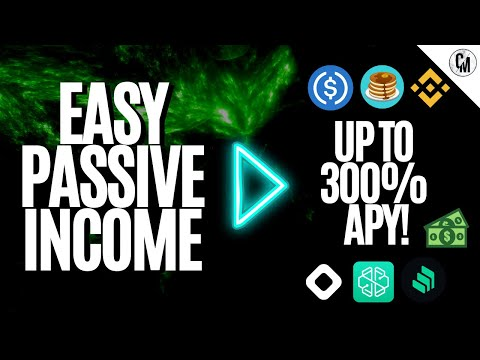 PASSIVE INCOME CRYPTO | TOP METHODS INSIDE UP TO 300% APY