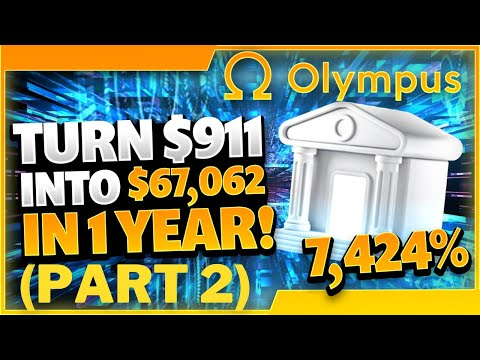 Insane Passive Income With OHM | Step-By-Step Set Up | OlympusDAO…3,3