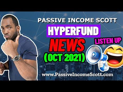 HyperFund 𝐍𝐄𝗪𝐒 (𝐎𝐂𝐓 𝟐𝟎𝟐𝟏) – Passive Income Scott
