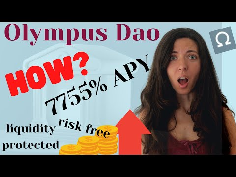 Olympus Dao (OHM) – New Crypto Coin for Passive Income | Why I Like OHM and How It Works